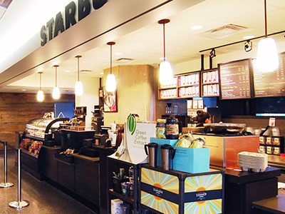 Starbucks at Robarts Library, University of Toronto